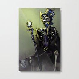 His Majesty Metal Print