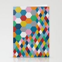 honeycomb Stationery Cards featuring Honeycomb by Project M