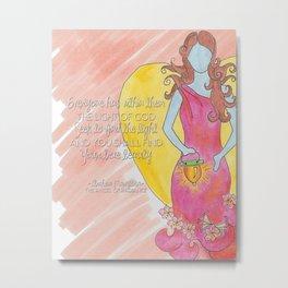 Maryllisa Light of God Metal Print