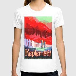 Vintage poster - Kepler-186f T-shirt