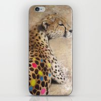 cheetah iPhone & iPod Skins featuring Cheetah by Sath
