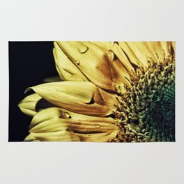 Sunflower Rain Rug