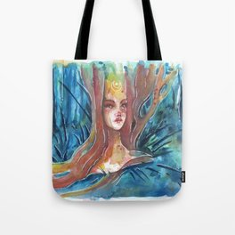 Midsummer Night Dryad Tote Bag