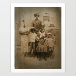 The Jazz Family Art Print