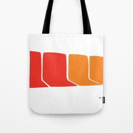 4 Seats on the 1 Tote Bag