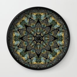 Labradorite Starlight Wall Clock