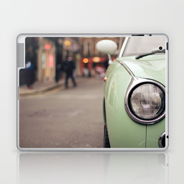The green car Laptop & iPad Skin