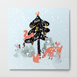 Christmas fairytale Metal Print