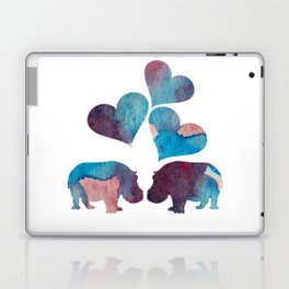 Hippo Art Laptop & iPad Skin