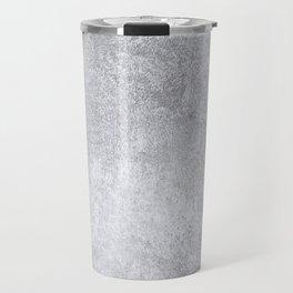 Abstract silver paper Travel Mug
