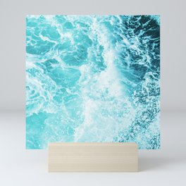 Perfect Sea Waves Mini Art Print