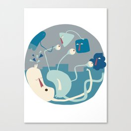 Entanglements 1 Canvas Print