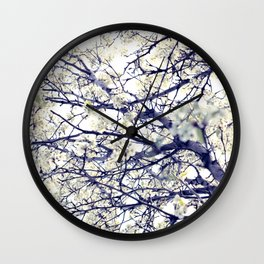 Blossom Beauty Wall Clock