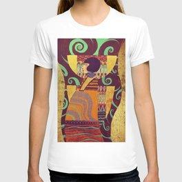 Dame Gold T-shirt