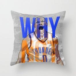 Russ! Throw Pillow