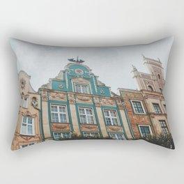 A day in Gdansk Rectangular Pillow