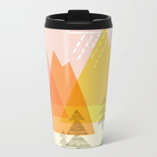 Raindrop Valley Metal Travel Mug