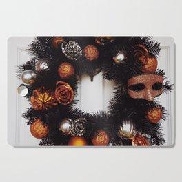Halloween Wreath Cutting Board