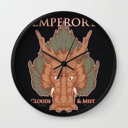 Dragon Tea Mock Ad (Square) Wall Clock