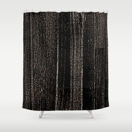 Bronze Maple Syrup Shower Curtain