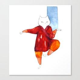 Kung Fu Plomi Canvas Print