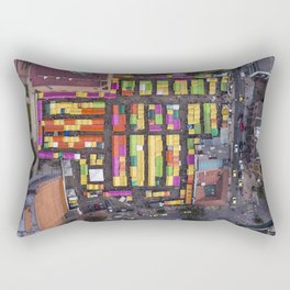Mercado de Pulgas Rectangular Pillow