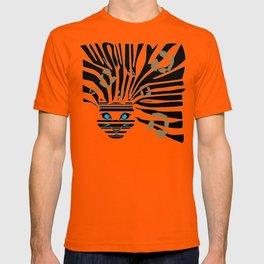 Leopard Zebra crossover T-shirt