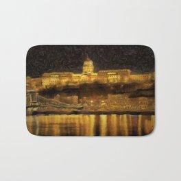 Budapest Vincent Van Gogh Bath Mat