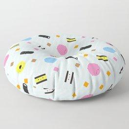 Kawaii Candy Liquorice Allsorts Floor Pillow