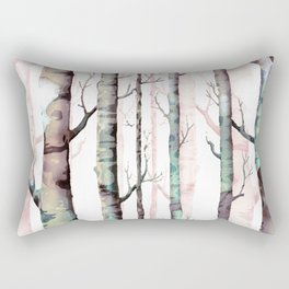 Birch Forest Rectangular Pillow