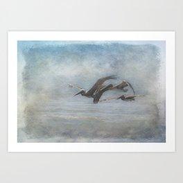 Skyrockets In Flight Art Print