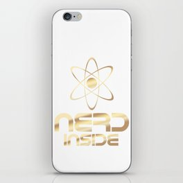 Nerd Inside iPhone Skin