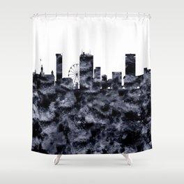 Birmingham Skyline Great Britain Shower Curtain
