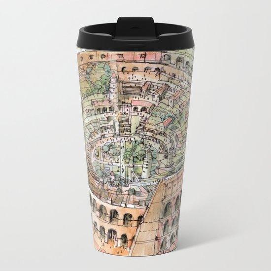 The Colosseo City Metal Travel Mug