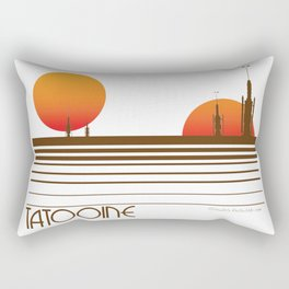 Visit Tatooine Rectangular Pillow