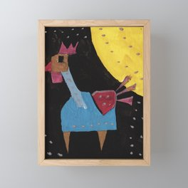 Squareland - squicken Framed Mini Art Print