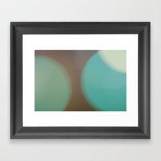 bokeh Framed Art Print