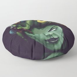 Dark Medusa Floor Pillow