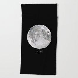 Moon #2 Beach Towel