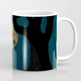 Moon With The Blues Coffee Mug