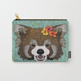 Tropical Red Panda Carry-All Pouch