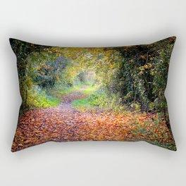 The Old Railway Line Rectangular Pillow