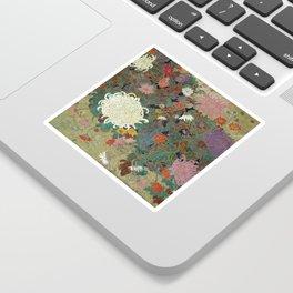 flower【Japanese painting】 Sticker