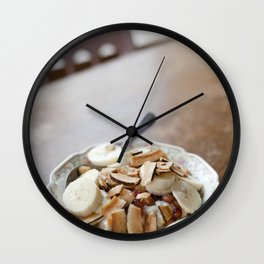 Breakfast Bowl Wall Clock