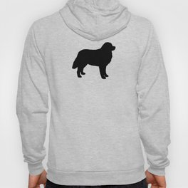 Bernese Mountain Dog Silhouette(s) Hoody
