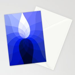 Monochromatic Blue Stationery Cards