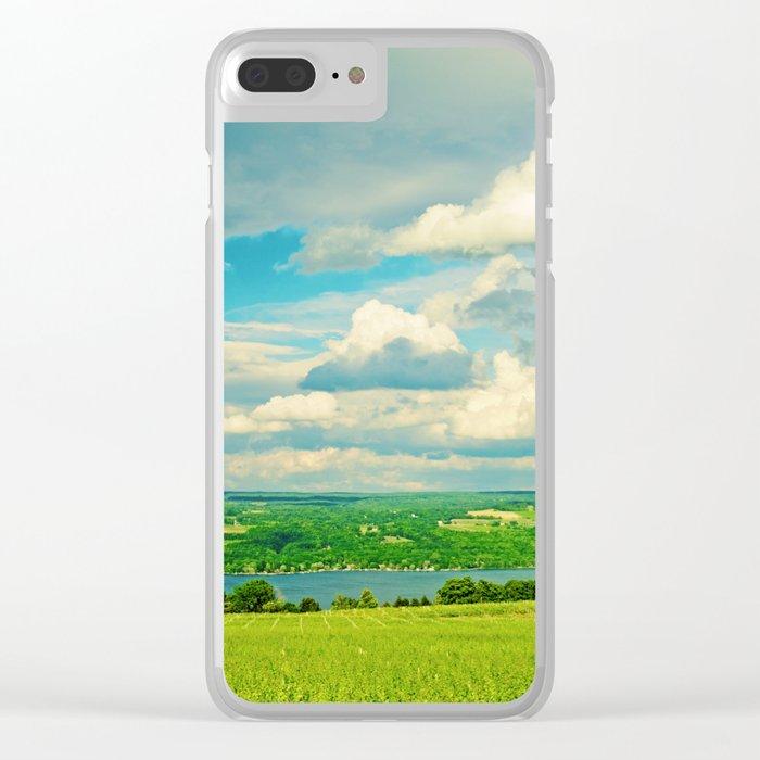 Seneca Lake Wine Road Clear iPhone Case