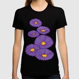 Purple Flowers - Mazuir Ross T-shirt