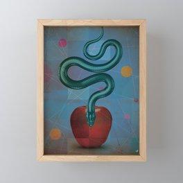 bite Framed Mini Art Print