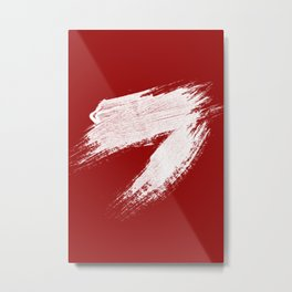 ANGER - red palette Metal Print